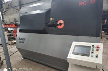 4-12mm hydraulinen automaattinen cnc 2D lanka taivutus kone toimittaja