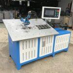 kuuma myynti automaattinen 3d teräslanka muodostava kone cnc, 2d lanka taivutus kone hinta