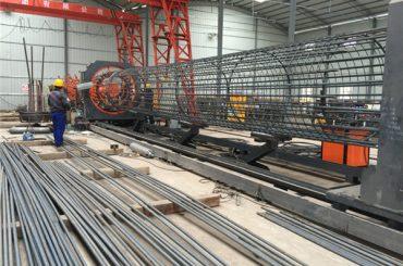 paras hinta hitsattu metalliverkko rulla kone, vahvistaminen häkki sauma hitsaajan halkaisija 500-2000mm