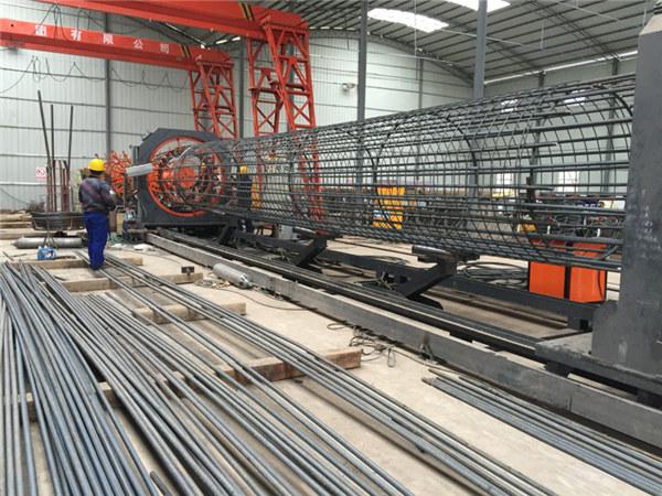 Paras hinta hitsattu metalliverkko rulla kone, Vahvistettu häkki sauma hitsaaja halkaisija 500-2000mm
