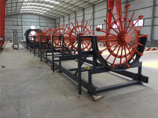 CNC-lujittaminen Pile-teräskarkahitsauskone